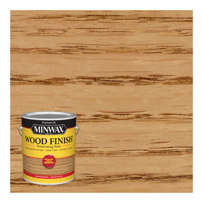 Minwax  Wood Finish  Semi-Transparent  Golden Oak  Oil-Based  Stain  1 gal.