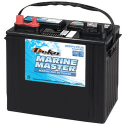 Deka Marine Master 12 volt 550 CCA Deep Cycle/Starting Battery