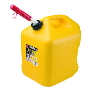 Midwest Can  Plastic  Diesel Can  5 gal.