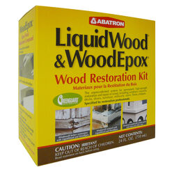 Abatron  LiquidWood and WoodEpox  Wood Restoration Kit