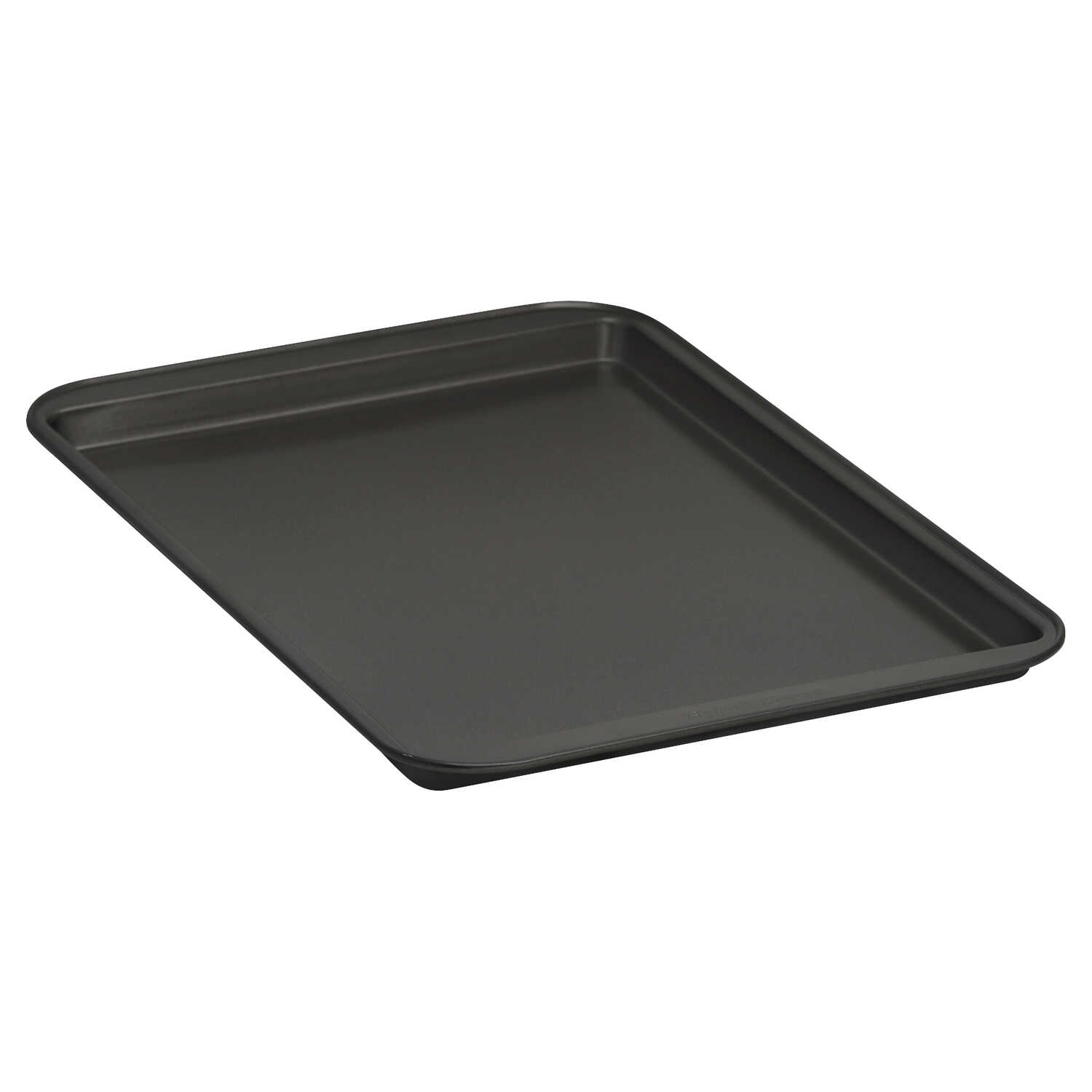 Baker's Secret  9.43 in. W x 13.36 in. L Cookie Sheet  Gray