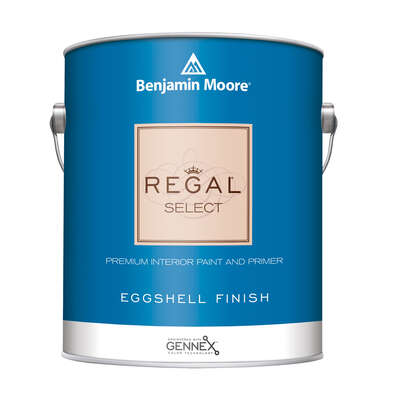 Benjamin Moore Regal Eggshell Base 1 Paint Interior 1 gal.