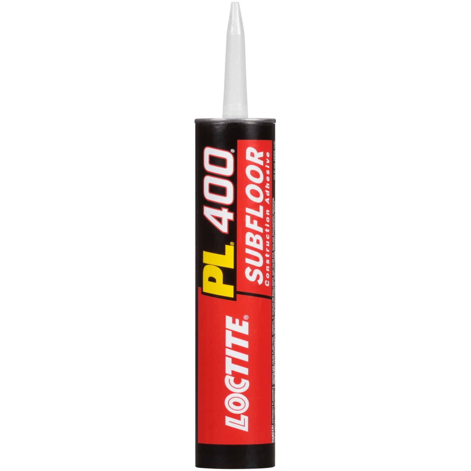 Loctite  PL 400  Synthetic Rubber  Subfloor Construction Adhesive  10 oz.
