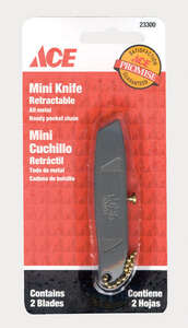 Ace  Mini  3 in. Sliding  Silver  1 pc. Hobby Knife