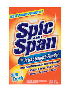 Spic & Span  Extra Strength  Sun Fresh Scent All Purpose Cleaner  27 oz. Powder