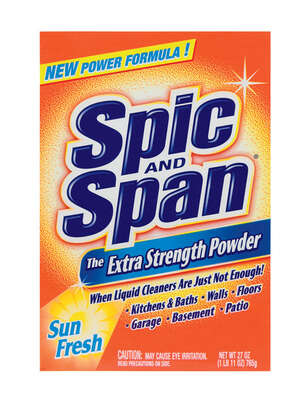 Spic & Span  Extra Strength  Sun Fresh Scent All Purpose Cleaner  Powder  27 oz.