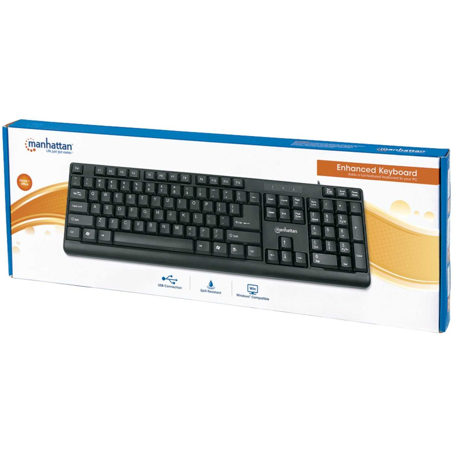 Manhattan  Enhanced  Keyboard  1 pk