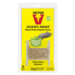 Victor  Scent-Away  Animal Repellent  Pouch  For Rodents 5 pk