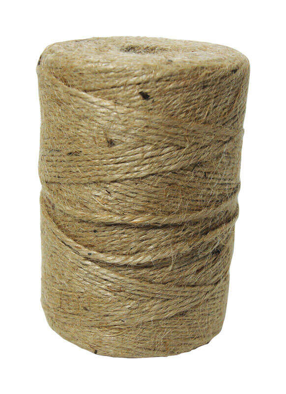 Ace  800 ft. L Natural  Braided  Twine  Jute