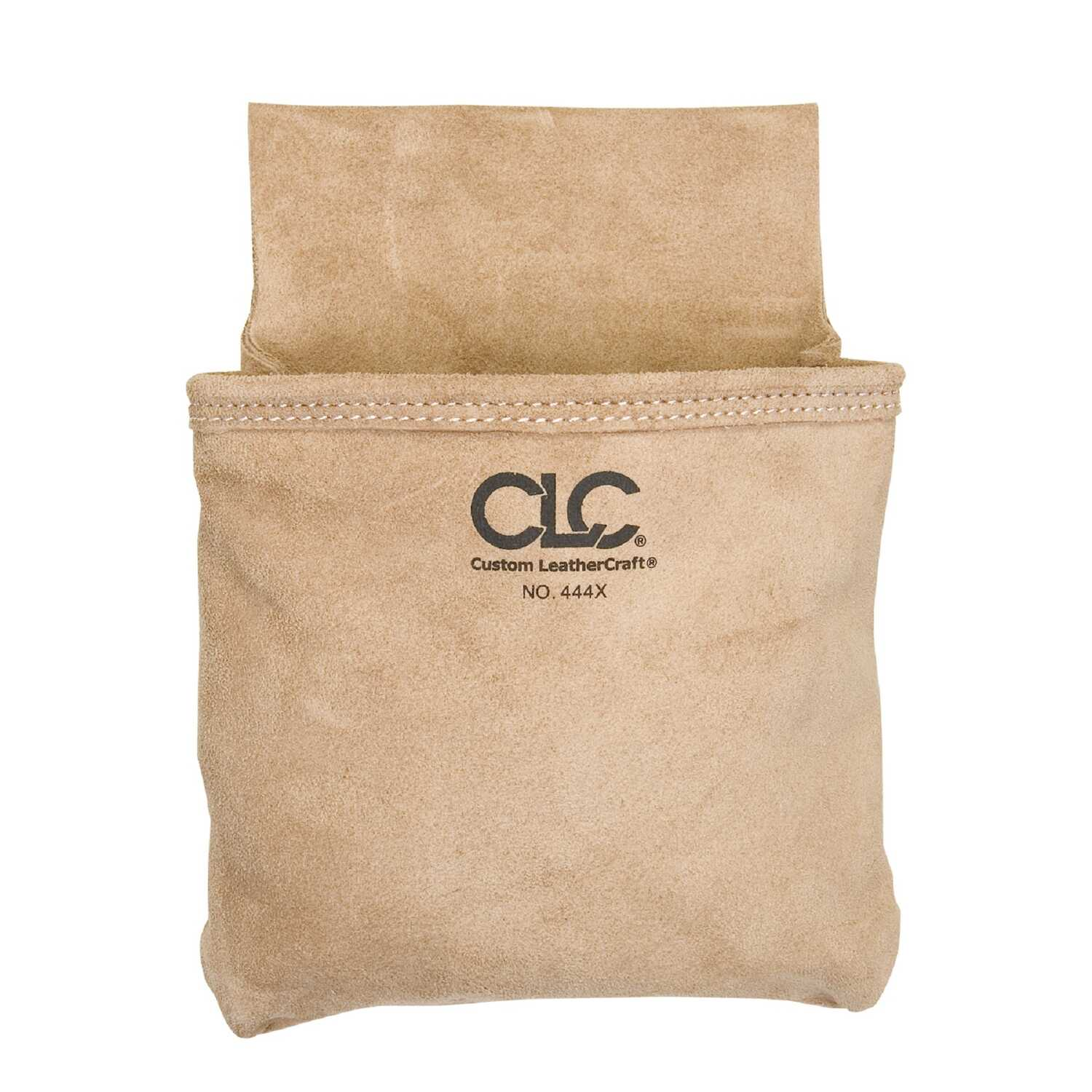 CLC  1 in. W x 12.75 in. H Suede  Tool Pouch  1 pocket Tan  1 pc.
