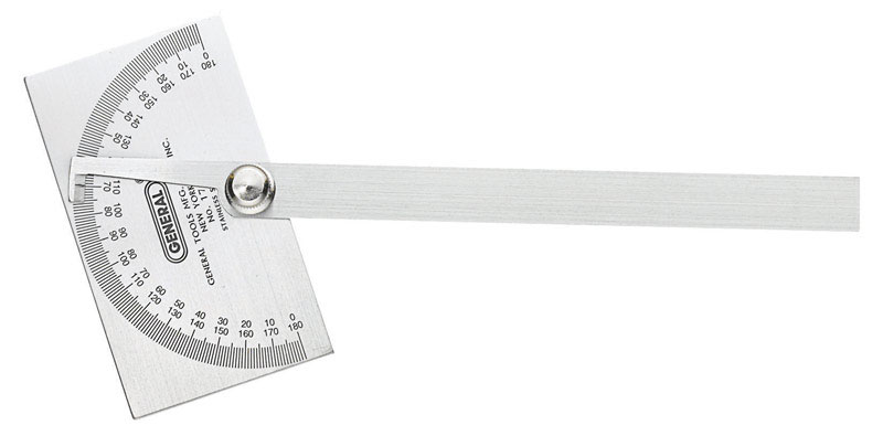 General Tools  11-3/4 in. L x 6 in. W Protractor