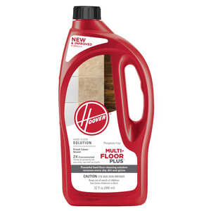 Hoover  Multi-Floor Plus  Fresh Linen Scent Floor Cleaner  32 oz. Liquid
