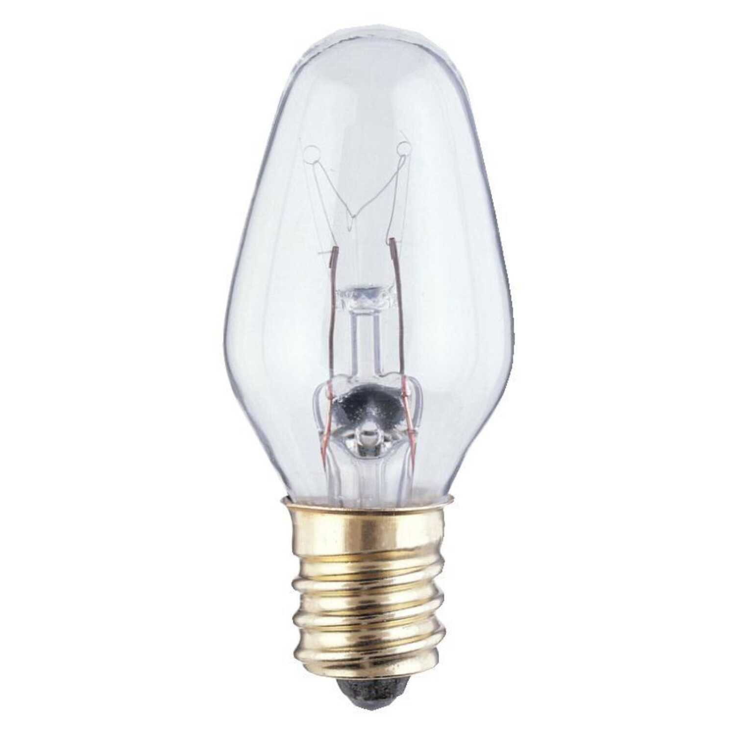 Westinghouse  4 watts C7  Incandescent Bulb  20 lumens White  Speciality  4 pk