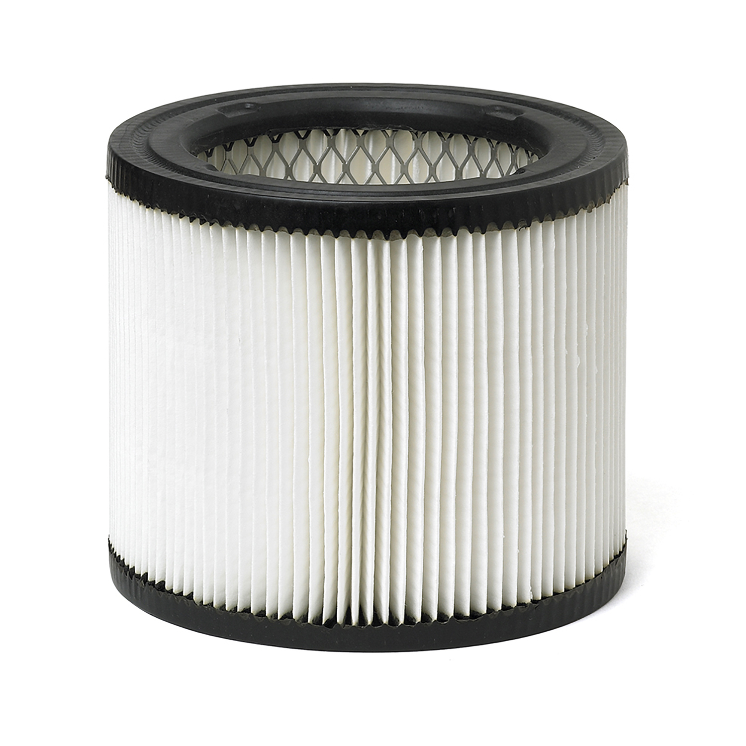 Craftsman  6  L x 6 in. W x 5-5/8 in. Dia. Wall Vac Filter  White  1 pk