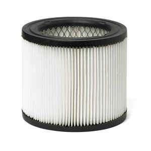 Craftsman  6 in. L x 6 in. W x 5-5/8 in. Dia. Wall Vac Filter  White  1 pc.