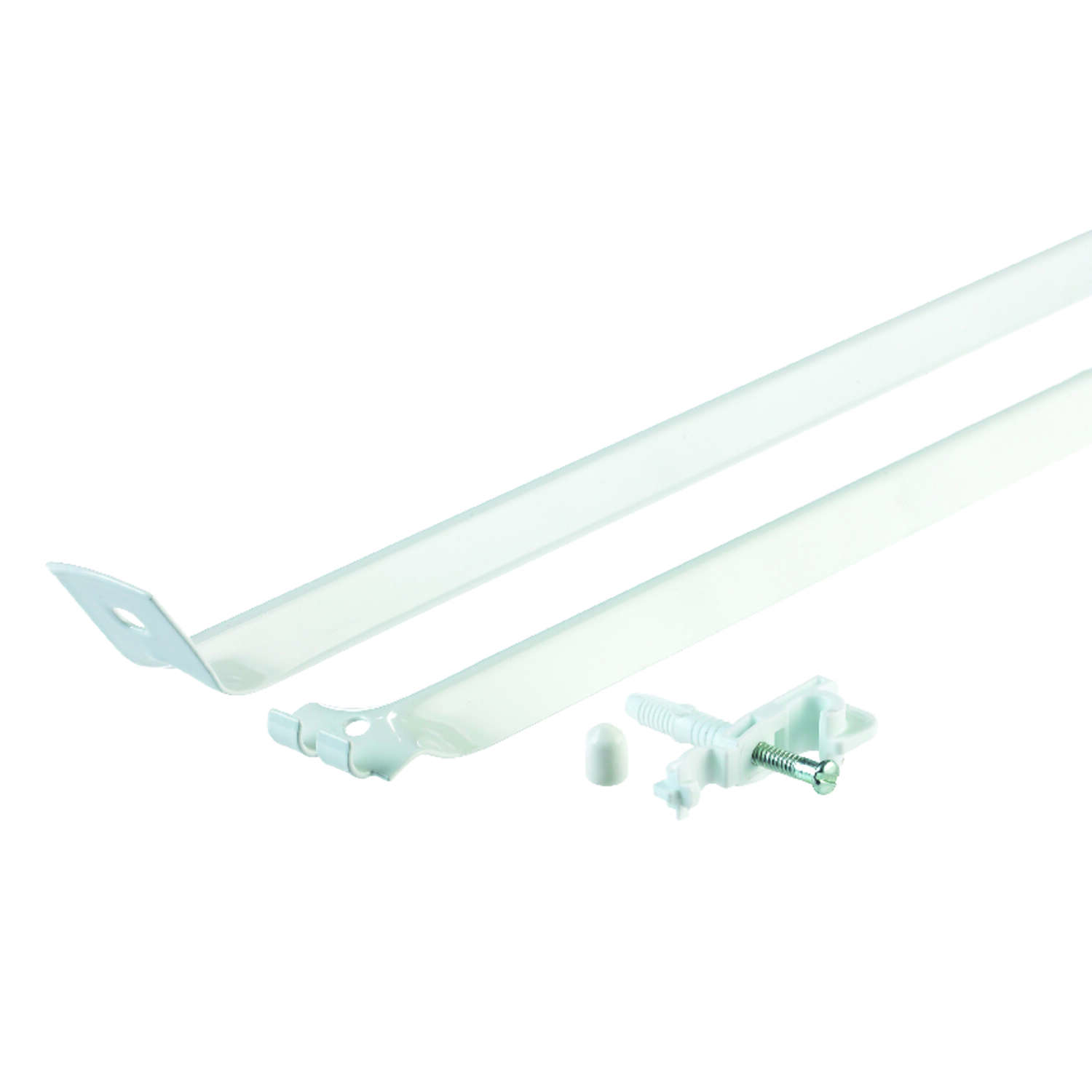 Rubbermaid  1.1 in. H x 12 in. W x 16 in. L Aluminum  Support Brace/ Wall Anchor W/Drive Pin  1 pk