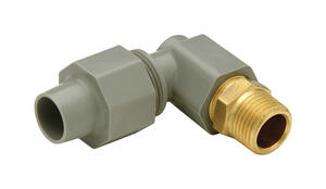 Zurn  1/2 in. CTS   x 1/2 in. Dia. MPT  Polybutylene  Adapter