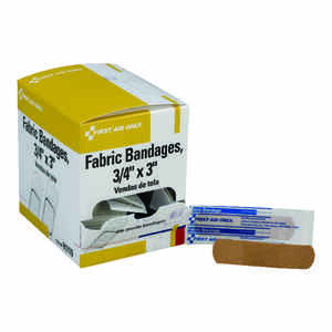 First Aid Only  Fabric Bandages  100 pk