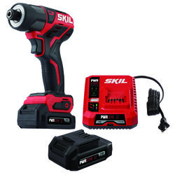 Skil PWRCore 12 12 volt 1/4 in. Cordless Brushless Impact Driver Kit (Battery & Charger)