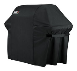 Weber  Black  Grill Cover  For Summit 600 Series Grills 74.8 in. W x 47 in. H