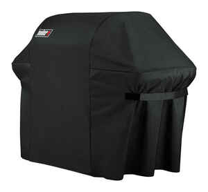 Weber  Black  Grill Cover  74.8 in. W x 26.8 in. D x 47 in. H For Fits Summit 600 Series Grills
