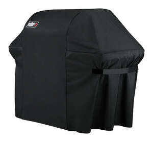 Weber  Black  Grill Cover  74.8 in. W x 47 in. H x 26.8 in. D For Fits Summit 600 Series Grills