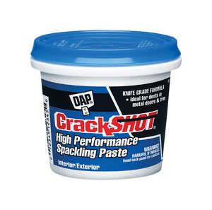 DAP  CrackShot  Ready to Use White  Spackling Compound  1 qt.