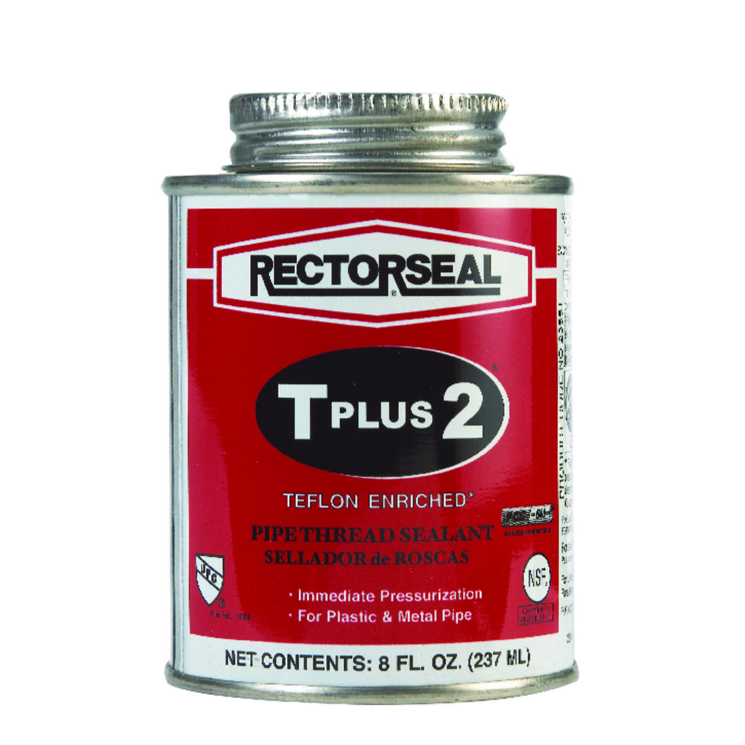 Rectorseal  White  Pipe Thread Sealant  8 oz.