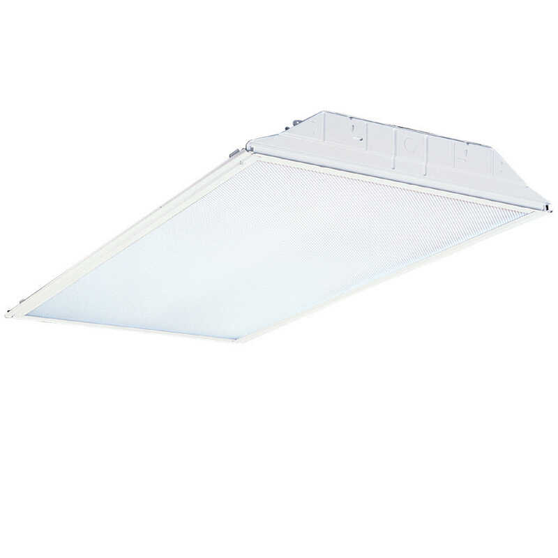 Lithonia Lighting  GT4  Troffer Light Fixture  3-1/8 in. 48 in. T8  35 watts 24 in.