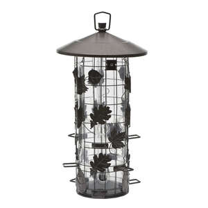 Perky-Pet  Wild Bird  Metal/Plastic  8 lb. Bird Feeder  9 ports