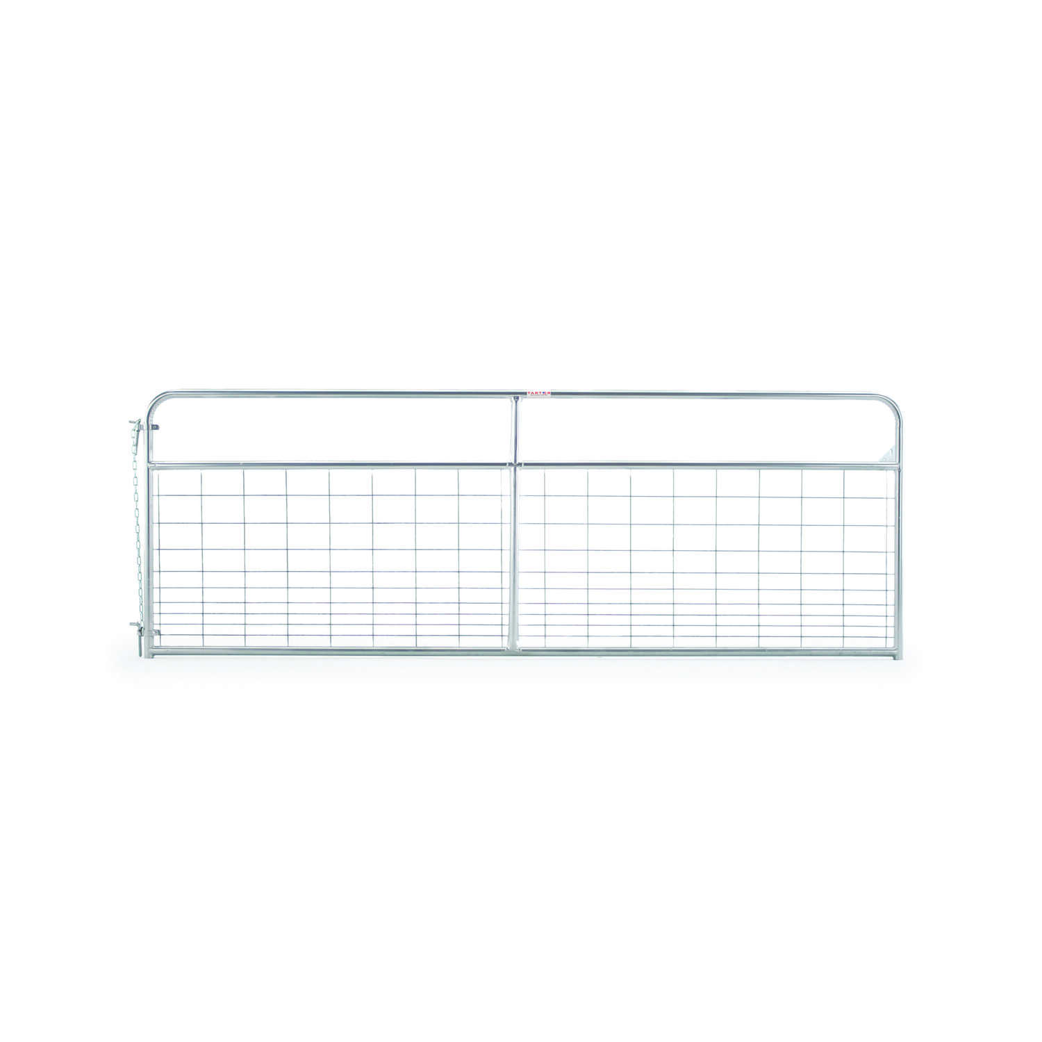 Tarter  50 in. H x 1.75 in. W Wire Filled Gate  Galvanized Steel