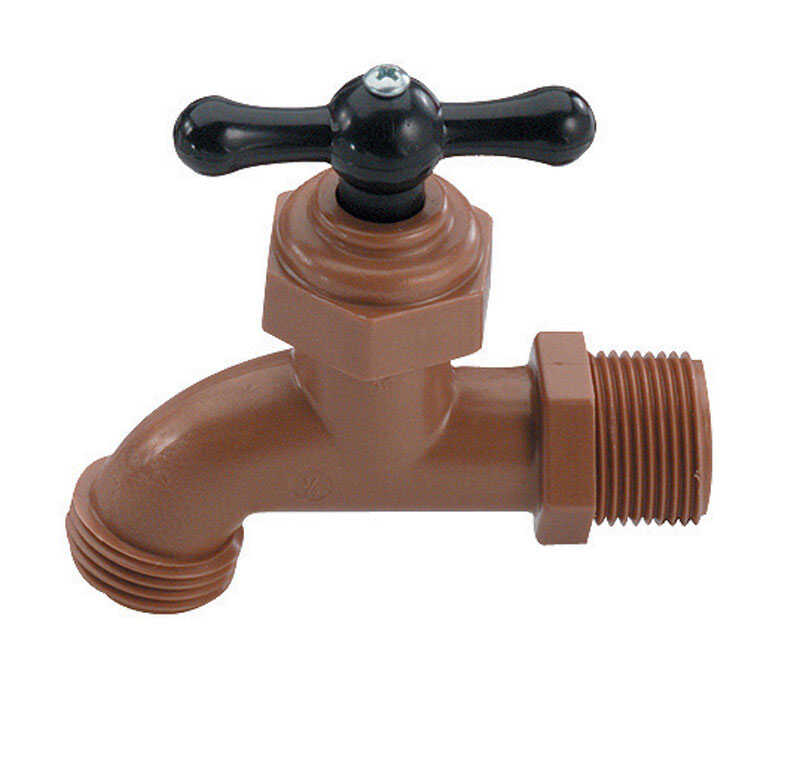 NDS  1/2 in. MPT  Dia. x 1/2 in. Dia. Hose  Celcon  Faucet