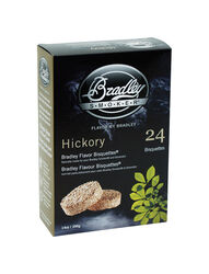Bradley Smoker  Hickory  All Natural Wood Bisquettes  24 pk