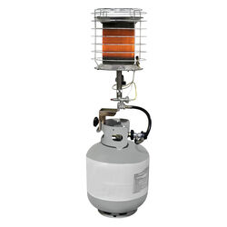Dyna-Glo  40000 BTU/hr. 1000 sq. ft. Radiant  Liquid Propane  Tank Top Heater