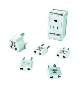 Travel Smart  Type A,  Type B,  Type C, Type E,  Type F,  Type G  For Worldwide Wattage Converter