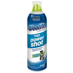 Woolite  Oxy Deep Power Shot  Fresh Scent Carpet Cleaner  14 oz. Liquid