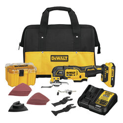 DeWalt  XR  20 volt Cordless  Oscillating Multi-Tool  Kit  20000 opm