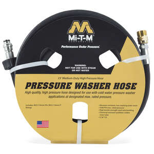 Mi-T-M  3500 psi 23 ft. L Pressure Washer Extension Hose