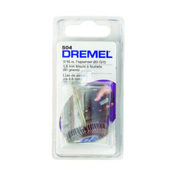 Dremel  3/16 in. Dia. Diamond  Flap Wheel Sander  80 Grit 1 pc.
