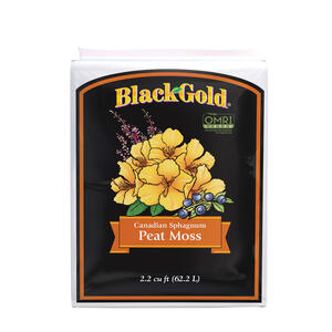 Black Gold  Organic Sphagnum Peat Moss  2.2 cu. ft.
