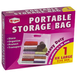 Ri-pac  Portable  Storage Bag  Clear