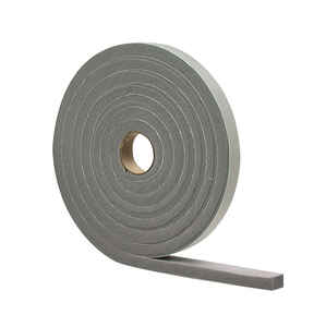 M-D Building Products  Gray  Foam  Weather Stripping  For Door and Window 10 ft. L x 3/8 in.