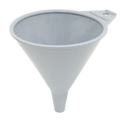 FloTool  Gray  Plastic  8 oz. Funnel