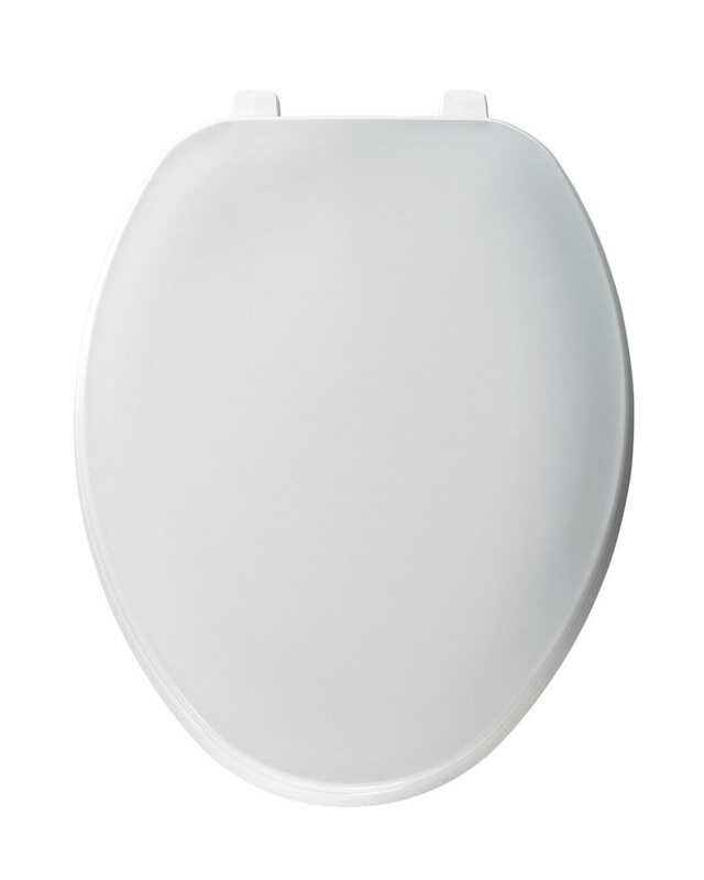 Mayfair Elongated White Plastic Toilet Seat Ace Hardware
