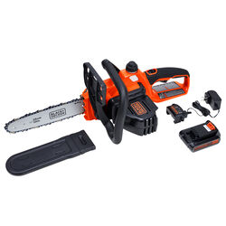 Black and Decker  10 in. 20 volt Battery  Chainsaw  Kit (Battery & Charger)