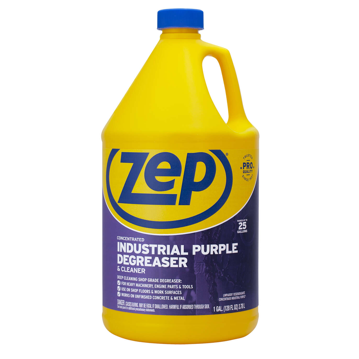 Zep Industrial Purple Mild Scent Cleaner And Degreaser 128