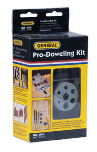 General Tools  Aluminum  4 in.  Doweling Jig with Bit Stop  1/2 in. to 4 in. 1 pc.