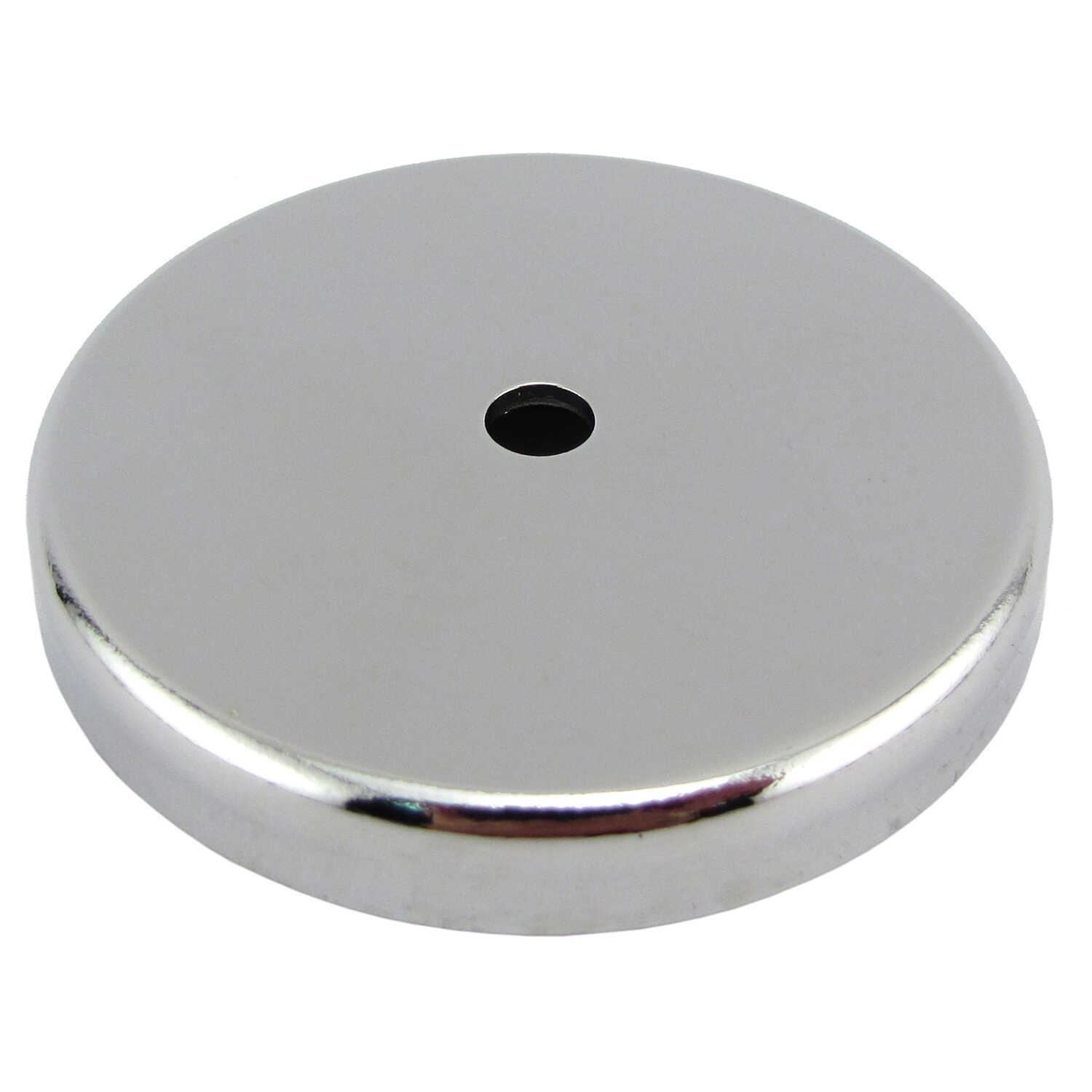 Master Magnetics  .375 in. Ceramic  Round Base Magnet  65 lb. pull 3.4 MGOe Silver  1 pc.