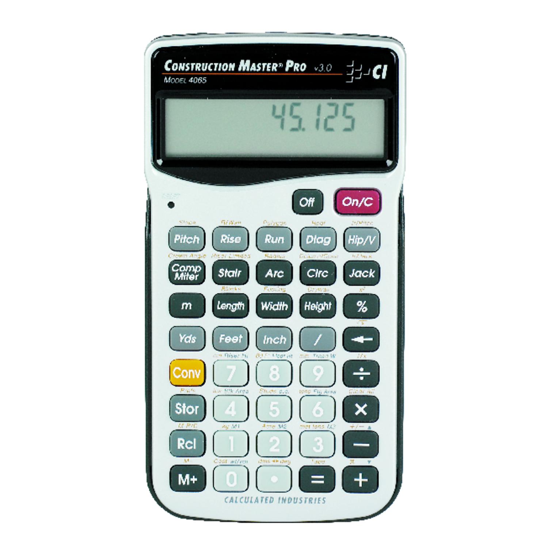 Calculated 11 Digit Construction Calculator - Ace Hardware