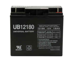 Universal Power Group  UB12180  18 amps Lead Acid Battery